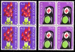 Belgium 1705/06** X 4  Croix Rouge MNH - Belgium