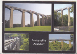 England Uncirculated Postcard - Pontcysyllte Aqueduct - Architectuur