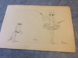 Lithographie De  Fernel  41.  X 28.5  Cm - Andere Verzamelingen
