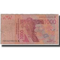 Billet, West African States, 1000 Francs, 2003, KM:715Ka, B - Westafrikanischer Staaten