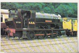 England Uncirculated Postcard - Trains - Lakeside & Haverthwaite Railway - No 14 Princess Bagnall 0-6-0ST - Trains