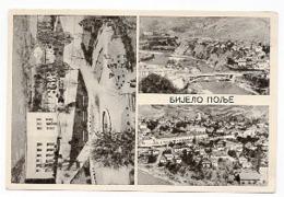 1950 YUGOSLAVIA, SERBIA, BIJELO POLJE TO ZEMUN, ILLUSTRATED POSTCARD, USED - Yugoslavia