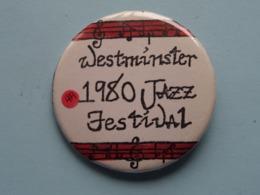 WESTMINSTER 1980 JAZZ FESTIVAL : Speld / Badge ( See / Voir Photo ) ! - Musique & Instruments