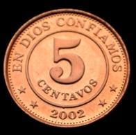 Nicaragua 5 Centavos 2002. UNC COIN Km97 - Nicaragua