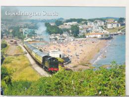 England Uncirculated Postcard - Trains - Paington & Darthmouth Railway - Goodrington - Trains