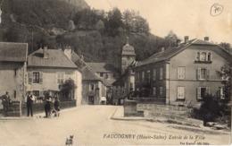 FAUCOGNEY - Entrée De La Ville - France