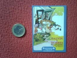 SPAIN PEGATINA ADHESIVO STICKER EDICIONES B GRUPO Z CALVIN Y HOBBES PARA PRINCIPIANTES BILL WATTERSON COMIC TIGER....VER - Pegatinas