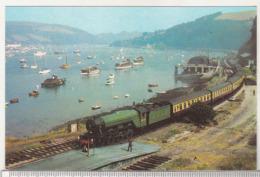 England Uncirculated Postcard - Trains - 4472 Flying Scotsman , Kingswear . - Trains