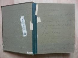 Militaria Guerre 14-18 - Registre Officiers Anglais Canadiens Blessés Hospitalisés Au Tréport (Trianon Hôtel?) - Dokumente