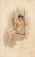 Carte Postale Cirque Barnum Et Bailey - Zirkus