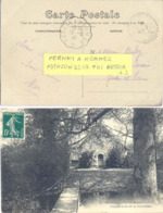 CONVOYEUR  PERNAY A HOMMES  TàD 16-5-10 POTHION 2347 T III RETOUR - Posta Ferroviaria