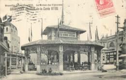 Belgique - Bruxelles - Expo 1910 - La Maison Des Vignerons - Vins De La Cuvée VITOU - Wereldtentoonstellingen