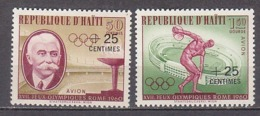 G1479 - HAITI AERIENNE Yv N°206/07 ** OLYMPIADES - Haití