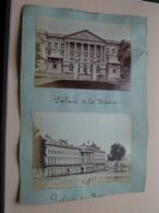 BRUXELLES 4x ( 4 Foto's Voor En Achterkant ) >>> ( See / Voir Photo Pour Detail ) Foto Net +/- 13,5 X 9,5 Cm. ! - Places
