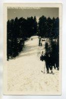38 AUTRANS Sports D'Hiver Le Tremplin Saut à Skis 1938 écrite Et Timbrée    /D04-2017 - Autres Communes