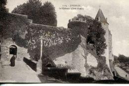 N°76567 -cpa Le Château De Josselin - Castles