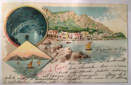 V 10700 Souvenir De Capri Anno 1903 - Napoli (Naples)
