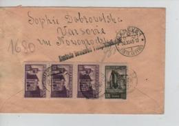 CBPN88/ Poland Registered Air Mail Cover Warszwa 14/11/1945 > Red Cross Geneva (Genève) Arrival Cancellation 30/11/45 - Posta Aerea