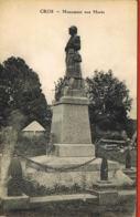 CROS- Puy De Dome-  Monument Aux Morts- -cpa - Paypal Sans Frais - Sonstige Gemeinden