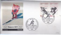 AK-div.32- 6002 -  Kiel -  Ersttag - Olympiamarken 1971- , Stpl Vom 4.6,1971 Sapporo 1972 - BRD