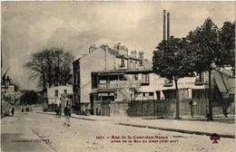 CPA PARIS (20e) Rue De La Cour-des-Noues. Prise De La Rue Du Cher (537955) - District 20