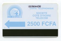 Telecarte °_ Côte Ivoire-magnét.SCIT-ciel-2500 FCFA- R/V 4436 - Côte D'Ivoire