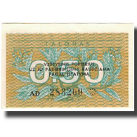 Billet, Lithuania, 0.50 Talonas, 1991, KM:31b, SPL - Lituania