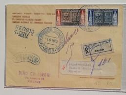 Cartolina Centenario Dei Primi Francobolli Dei Ducati Di Modena E Parma - 01/06/1952 - 1946-60: Marcofilia