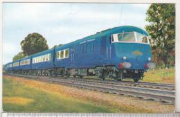 England Uncirculated Postcard - Trains - The Midland Pullman - Trains