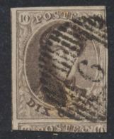 "Médaillon - N°10 Margé + Grand Voisin Obl D6 ""Bilsen"" - 1858-1862 Medallions (9/12)"