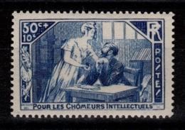 YV 307 N** Chomeurs Intellectuels Cote 6 Euros - Frankreich