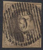 Médaillon - N°10A Margé Obl D9 Bree / Fléron. à Déterminer, Belle Frappe ! - 1858-1862 Medallions (9/12)