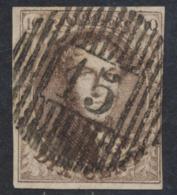 """Médaillon - N°10A Bien Margé Obl D15 """"Rousbrugge"""". Superbe ! - 1858-1862 Medallions (9/12)"""