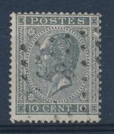 BELGIE - OBP Nr 17A V5 (LUPPI) - Gestempeld/oblitéré  - (ref. ST 1229) - 1865-1866 Profile Left