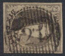 Médaillon - N°10A Bien Margé Obl D21 Havelange / Messines. à Déterminer, TB - 1858-1862 Medallions (9/12)