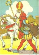 118) Saint-Nicolas - Sinterklaas - Zeer Goede Staat - L'état Très Bon ! - 10 X 15 Cm - San Nicolás