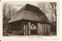 75 - PARIS EXPOSITION COLONIALE INTERNATIONALE 1931 / CAMEROUN TOGO - PAVILLON DE LA CHASSE - Exhibitions