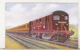 England Uncirculated Postcard - Trains - Metropolitan Electric Locomotive No 17 With A Rickmansworth Train - Trains