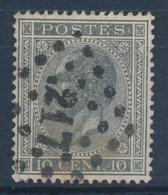"""BELGIE - OBP Nr 17A V5 (LUPPI) - Gest./obl. P217  """"LIÈGE"""" - (ref. ST 1232) - 1865-1866 Profile Left"""