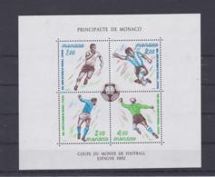 Monaco 1982 FIFA World Cup Football Spain Souvenir Sheet MNH/** (LAR-H59) - 1982 – Espagne