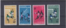 Rwanda 1966 Jeunese Et Sports 4 Stamps MNH/** (H59) - Briefmarken