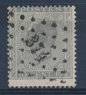 """BELGIE - OBP Nr 17A V5 (LUPPI) - Gest./obl. P374  """"VERVIERS"""" - (ref. ST 1234) - 1865-1866 Profile Left"""