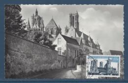 France - Carte Maximum - Cathédrale De Laon - 1960 - Cartes-Maximum