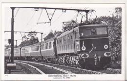 England Uncirculated Postcard - Trains - Continental Boat Train , Locomotive No 27003 - Trains