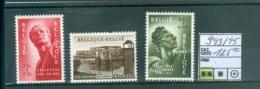 943-945    Xx COB 125.00€ - Unused Stamps
