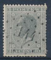 """BELGIE - OBP Nr 17A - Gest./obl. P144  """"GEMBLOUX"""" - (ref. ST 1236) - 1865-1866 Profile Left"""