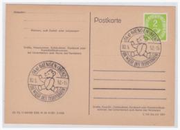Motiv (003876) Bund Postkarte Blanco Gestempelt Mit Sonderstempel Giengen, Die Wiege Des Teddybaeren - Osos
