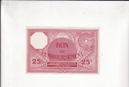 BISCUITS PERNOT   Bon De Remboursement    25 Centimes     Année 1929    Série K - Pernot
