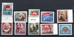 DDR  344 - 353 **  Postfrisch - [6] Democratic Republic