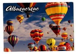 POSTAL POST CARD ALBURQUERQUE NEW NUEVO MEXICO USA UNITED STATES ANNUAL BALLOONING GLOBO AEROSTÁTICO BALLOON BALLON VER - Postales